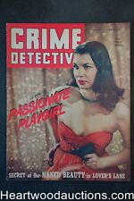 """Crime Detective"" January 1948 Bad Girl Cover"