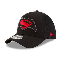 NEW ERA 39Thirty Stretch Fit Cap Super Neo Batman Superman Doppelstick S/M SALE