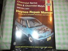 1989 90 91 92 Chev Pontiac Firefly Metro Sprint Parts//Illustrations Book 15MC