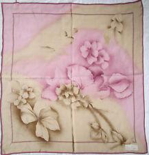 -  Foulard PIERRE CARDIN  soie  TBEG  vintage scarf  87 x 92 cm