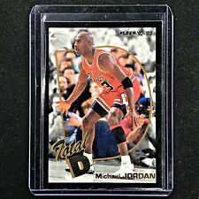 1992-93 Fleer MICHAEL JORDAN Total D Gold #5