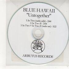 (FF79) Blue Hawaii, Untogether - DJ CD