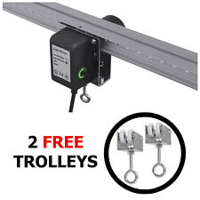 More details for 2m light mover rail kit grow intellidrive automatic moving motorized kit setup