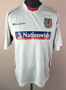 Wales 2008/2009/2010 CHAMPION Football Shirt Men's Size XL Jersey Nationwide