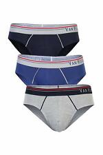 Van Heusen Men's Cotton Brief (Pack of 3) 100% Combed cotton label free comfort