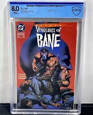 Batman: Vengeance of Bane #1 CBCS 8.0! 1st App and Origin of Bane! Not CGC!