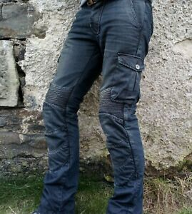 Motorcycle Jeans w/ Kevlar lining 32W 32L only tried on once! Mens or Womens