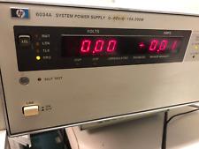 HP 6034A SYSTEM POWER SUPPLY 0-60V/0 - 10A, 200W