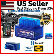 Car Bluetooth OBD2 Scanner Code Reader Automotive Diagnostic Tool OBDII ELM 327