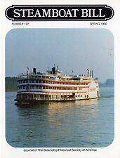 """#177 Secret on the QUEEN MARY-""""Steamboat Bill"""" spring 1986-SSHSA mAiLs WORLDWIDE"""