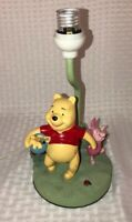 Vintage Disney Winnie the Pooh Nursery Lamp with Piglet Baby Decor