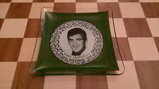 Tony Jacklin 0BE Glass Ceramic Ashtray Pin Dish Plate 30th November 1970 RARE