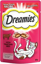 Dreamies Cat Treats with Tempting Beef - 60g