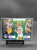 GreenBay Packers 2020 Panini Mosaic Flea Flicker Green Prizm SP Aaron Rodgers 🐐