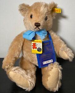 "Vintage 16"" Mohair Steiff Jointed plush Teddy Bear 0245/40 w/ Passport"