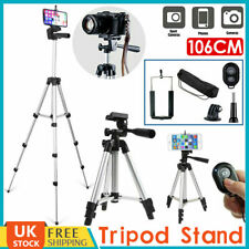 Universal Telescopic Camera Tripod Stand Phone Holder For iPhone Samsung Sony