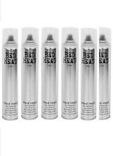 6x Tigi Bed Head HARD HEAD Hairspray Haarspray - 385 ml
