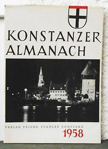 KONSTANZER ALMANACH  Illustriertes Jahrbuch 1958   Konstanz