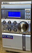 KENWOOD RXD M-57MP Mini Stereoanlage Kompaktanlage CD, MP3,TAPE, AM/FM Tuner, EQ