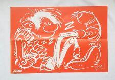 BD - Supplement Journal Spirou n° 3472 Poster Spirou & Fantasio / 2004/ FRANQUIN