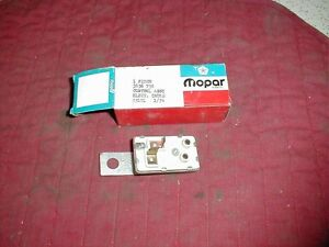 NOS MOPAR 1973 ELECTRIC CHOKE CONTROL UNIT ALL MODELS & ENGINES