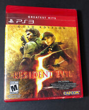 Resident Evil 5 GOLD Edition [ Greatest Hits ] (PS3) NEW