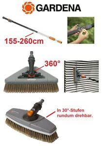 GARDENA Cleansystem Waschbürste 360° #5560 oder Teleskopstiel 155-260cm #5554