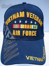 VIETNAM U.S. AIR FORCE VETERAN Cap/Hat Blue NEW Military FREE Shipping