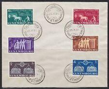 Luxemburg 1951 Mi.Nr. 478-83 Europäische Einigung FDC Michel 250,-- €