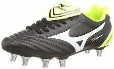 Mizuno Fortuna Rugby Sp Men's Rugby Boots (Black/White/Yellow) 7 UK (40 1/2 EU)