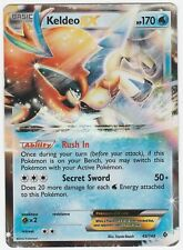 Pokemon Boundaries Crossed: Keldeo EX Special HOLO 49/149 Light Play Condition
