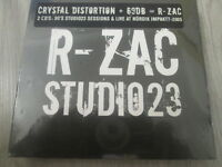 "SPIRAL TRIBE  / R-ZAC ""STUDIO 23""  CRYSTAL DISTORTION + 69dB / EXPRCD20 / SEALED"