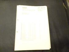 Original Service Manual SABA Ultra Hifi proffesional 9240 electronic