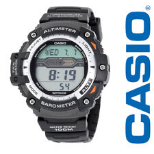Casio Twin Sensor Watch, Altimeter, Barometer, Thermometer, 5 Alarms,SGW300H-1AV