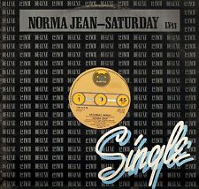 "NORMA JEAN saturday LV 13 uk bearsville 1978 12"" PS VG+/VG"