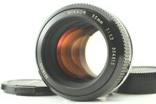 【NEAR MINT】 Nikon New NIKKOR 55mm f/1.2 Ai Converted Manual Focus From Japan