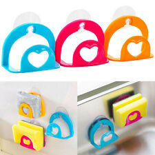 Kitchen Tool Organizer Storage Dish Cloth Sponge Holder Suction Cup Sink Holder