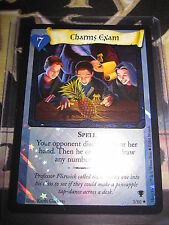 HARRY POTTER TRADING CARD TCG QUIDDITCH CUP CHARMS EXAM 3/80 RARE FOIL EN MINT