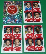 PANINI FOOTBALL FOOT 2005 STADE REIMS AUGUSTE-DELAUNE COMPLET FRANCE 2004-2005
