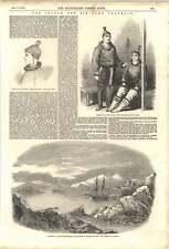 1852 RICERCA DI SIR JOHN FRANKLIN Eschimesi Donna fiskernoes Isabel Anchor
