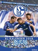 Schalke 04 - XL Kalender 2018 - Poster Kalender 48x64 cm (NEU)