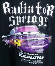 DISNEY'S California CARS Hot Rod RADIATOR SPRINGS T SHIRT Sz XXL 2XL Disneyland