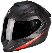 Scorpion Casco Integrale Exo-1400 Air Carbon Pure Neon Rosso XXL