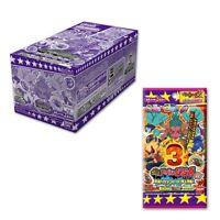 Youkai Watch Yokai Yo-kai Medal USA case03 Crash Ikemen Hero 1 Box New Japan