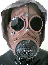 Wasteland Gas Mask Faux Leather Adult Halloween Costume Accessory