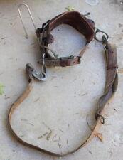 Bashlin Industries Lineman climbing belt size D21 Model 88 with Strap & Hook