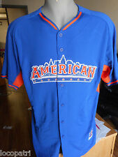 Mens Majestic MLB All-Star Game 2013 American League Cool Base Jersey NWT 44
