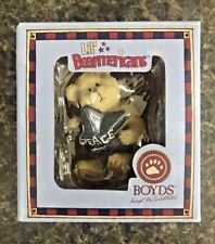 2006 Boyds Lil' Bearmericans Peace Bear w/ Angel Wings Ornament Boyds Bears
