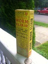"""Childrens """"Worm"""" Elixir Unopened Original Box Full Bottle Inside!"""
