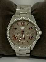 Fossil AM4628 Cecile Women's Stainless Steel Analog Taupe Dial Quartz Watch W305